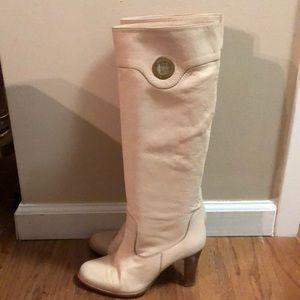 Vintage BALLY Cream Boots